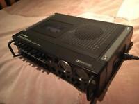 Rare Technics portable semi pro cassette deck