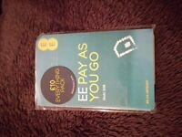 Unopened EE sim card with £10 credit