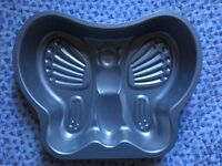 Non stick butterfly baking tin