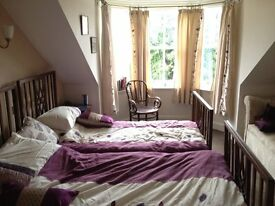 Bright double or twin room in central Crieff, Bills Included!