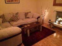 Excellent condition large corner sofa