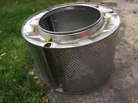 Fire pit washing machine