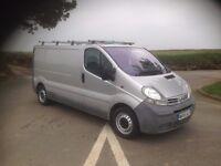 Nissan Primastar SAME AS Vivaro/Trafic 1.9dCi 100ps SE 2700 l W B 6 Speed. 133k £3295