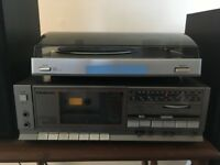 Panasonic Receiver with a Bush Record Player