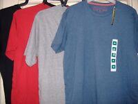 4 x brand new t-shirts