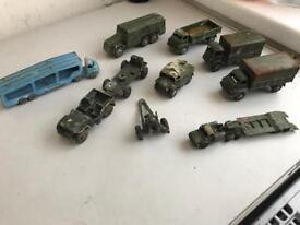 Job lot of classic dinky toys and corgi