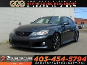 2008 Lexus IS F W/ FULL LASER RADER DECATUR EQUIPPED Base w/ Nav