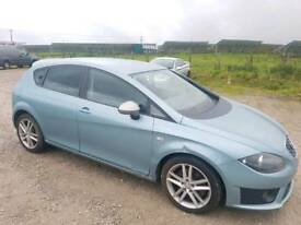 2009 SEAT LEON FR CR 2.0 TDI 170 BHP 5 DOOR HATCHBACK BLUE