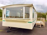 Double glazed and fully heated static caravan for sale at Hornsea nr Bridlington, Scarborough, Filey