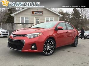 2014 Toyota Corolla S Tech Package