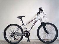 "(2074) 24"" LIGHTWEIGHT Aluminium CLAUD BUTLER BOYS GIRLS MOUNTAIN BIKE BICYCLE Age:8-12 H: 130-150cm"