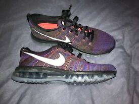 Men's Nike Flyknit Max size 8.5 trainers- brand new