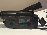 PanasonicNV-RX7 VHSCamera with RemoteControl,140xZoom,WideLens,built in SuperImageStabilizer, 0.7Lux