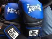 16oz Lonsdale Boxing Gloves Used few times