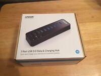 Anker 7 Port USB 3.0 Hub - Brand New