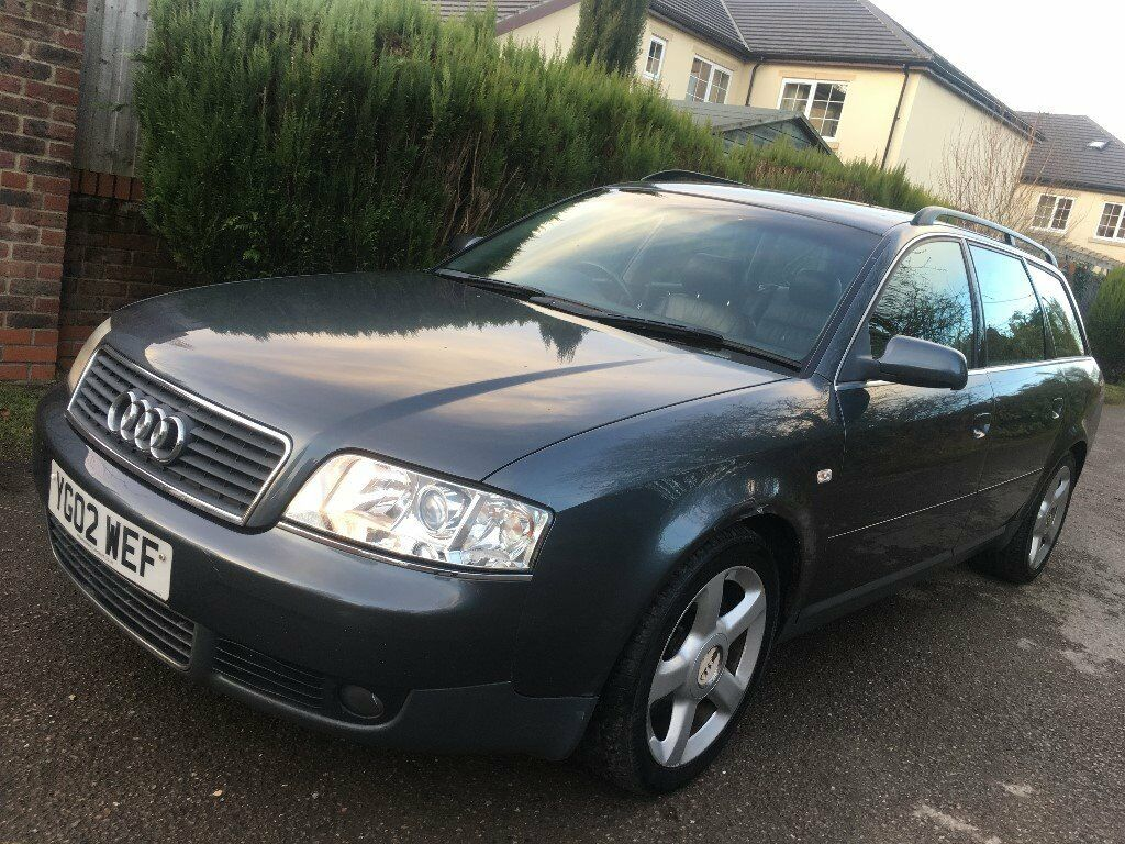2002 Audi A6 Avant Quattro 2.5 TDI 180BHP 6 Speed Manual 133k FSH Black  Leather