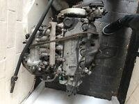 Honda D16Z6 engine and gearbox
