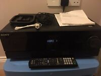 SONY STR-DN610 amplifier receiver all included. Local delivery available. CHEAP!!