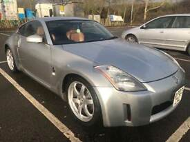 NISSAN 350z CONCEPT COUPE ORANGE CALIFORNIA LEATHER SEATS,FULLY LOADED ,SPORTS AUTO,LONG MOT£4000