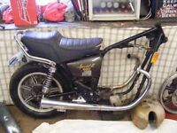 Yamaha XS 650 & 250 Project