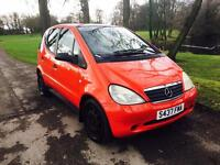 1999 Mercedes A140 1.4 Manual Red