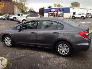 2012 Honda Civic LX Extended Warranty !!!! Stratford Kitchener Area image 3