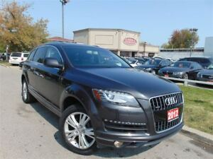 2012 Audi Q7 3.0T PANORAMIC ROOF QUATTRO