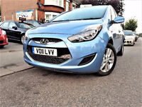 (31000 Miles) 2011 HYUNDAI ix20 -- 1.6 Automatic - ix 20 alternate4 Hyundai i20 toyota corolla auris