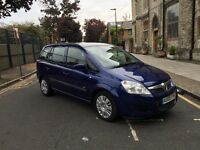 Vauxhall zafira 1.6, full service history, lond mot, excellent condition, 7 seater