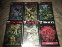 Teenage mutant ninja turtles #1-6 complete miniseries