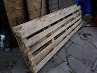 2 large pallets for SALE free delivery local
