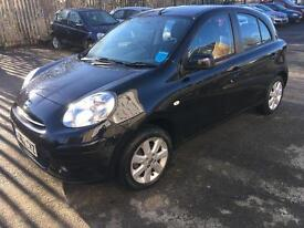 2013 62 Reg Nissan micra 1.2 auto pure drive 2011 2012 2010 automatic PX WELCOME PART EXCHANGE