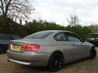 /// BMW 320I SE 2008 PLATE COUPE NEWER SHAPE /// AUTOMATIC 2.0 BLACK ALLOYS ///