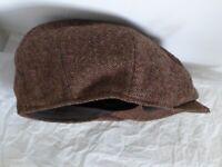 MAJOR WEAR FLAT CAP, CLOTH CAP, HAT. AS NEW. Unused. Stylish. Size: L / XL