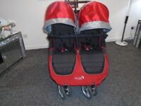 Double baby jogger city mini latest model many new parts fitted