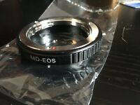 Minolta MD MC to Canon EOS Lens Adaptor Mount