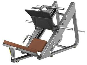 New eSPORT Commercial LINEAR BEARINGS HEAVY DUTY LEG PRESS 45°