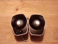 Logitech Z120 Computer Speakers as brand new