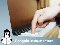 Fantastic private piano lessons from £10 in Cardiff with great teachers at Penguin Instrumentors