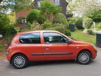 2004-2005 Renault Clio 1.5 diesel 68k 11M Mot £30 tax Yr