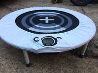 NOW SOLD! - iJump Mini Trampoline *Brand NEW - Never Used* Rebounder, with Electronic Monitor....