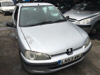 2003 PEUGEOT 106 INDEPENDENCE (MANUAL PETROL)- FOR PARTS ONLY