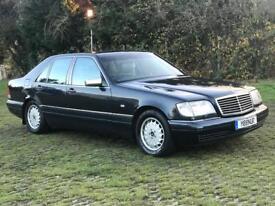 Mercedes S class W140 S320 1996 (N) Auto Black