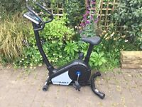Hardly used Roger Black Fitness Bike with computer operation, can be seen on Argos website