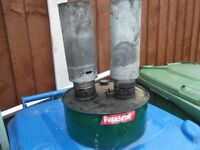 used twin parafin greenhouse heater