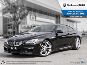 2014 BMW 6 Series 650i Xdrive Local One Owner! M Sport Package!