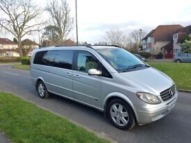 2007 Mercedes Benz viano diesel Ambiente Long AUTOMATIC 8 or 7 seater auto