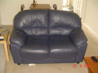 2 x Faux leather sofa's Tweedmouth Berwick