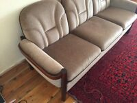 3 seater sofa and single seater sofa or split the set 3s for 150 & 1s for 70 or ONO