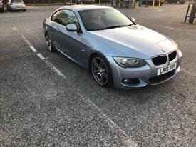 Bmw 320d coupe , M sport, 2010 , new shape creem leather